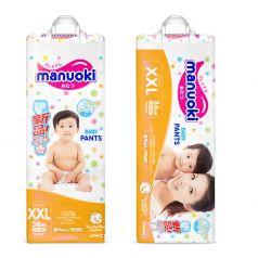 Подгузники-трусики Manuoki XXL 15+ кг, 36шт.