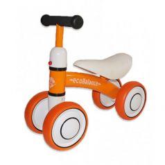 Беговел EcoBalance Baby, оранжевый