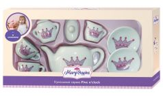 """Кукольный сервиз Mary Poppins """"Корона"""", фарфоровый, 9 предметов"""