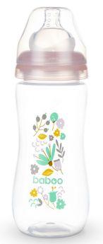 Бутылочка Baboo Flora с силиконовой соской, 330мл