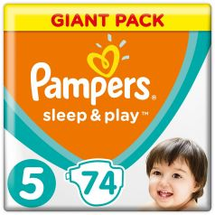 Подгузники Pampers Sleep&Play Junior 5 (11-16кг), 74шт.