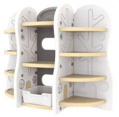 Стеллаж для игрушек Ifam DesignToy-10, бежевый