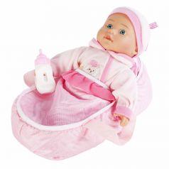 "Набор 2в1 Mary Poppins ""Милый болтун"", кукла в розовом комбинезоне"