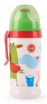 Поильник Happy Baby Feeding Cup Grass с прищепкой, 360мл