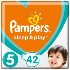 Подгузники Pampers Sleep & Play Junior 5 (11-16кг), 42шт.