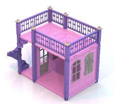 """Нордпласт Домик для кукол """"Замок Принцессы"""", 1 этаж"""