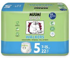 Подгузники-трусики Muumi Walkers Maxi+, 7-15кг, 22шт.