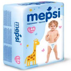 Детские подгузники-трусики Mepsi L, 9-16кг, 44шт.