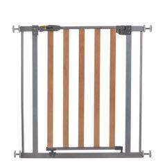 Ворота безопасности Hauck Wood Lock Safely Gate Silver