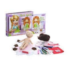 """Набор для творчества Bondibon """"Моя кукла. Рыжая"""""""
