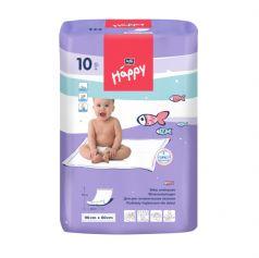 Детские пеленки гигиенические Bella Baby Happy, 60х90см, 10шт.  soft 60x90, 10шт.