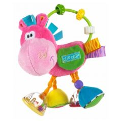 "Игрушка-погремушка Playgro ""Розовый ослик"""