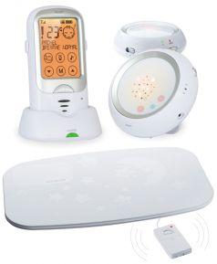 Радионяня с двумя детскими блоками и монитором дыхания Ramili Baby RA300 DuoSP