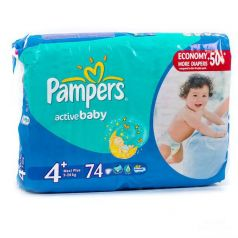 Подгузники Pampers Active Baby Dry 5 (11-18кг), 78шт.