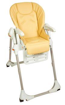 Чехол Capina на стульчик для кормления Chicco Polly, бежевый