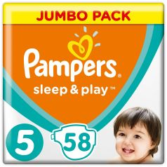 Подгузники Pampers Sleep&Play Junior 5 (11-16/18кг), 58шт.