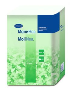 Пеленки впитывающие MoliNea normal 60х60см, 10шт.