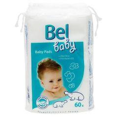 Детские ватные подушечки Bel Baby Pads, 60шт.
