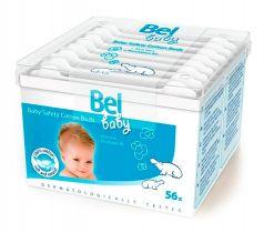 Детские ватные палочки Bel Baby Safety Buds, безопасные, 56шт.