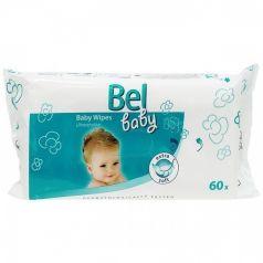 Детские влажные салфетки Bel Baby Wipes для чувствительной кожи, 60шт.