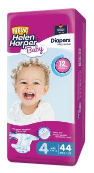 Подгузники Helen Harper Baby Maxi, 7-14 кг, 44шт.