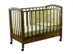 """Кровать детская """"Фея"""" 600, темный мед"""
