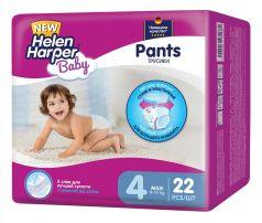 Подгузники-трусики Helen Harper Baby Maxi, 8-13кг, 22шт.