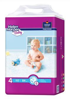 Подгузники Helen Harper Baby Maxi, 7-14кг, 84шт.