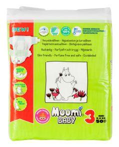 Подгузники Muumi Baby Midi, 5-8 кг, 50шт.