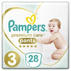Подгузники-трусики Pampers Premium Care Pants Midi 3 (6-11кг), 28шт.
