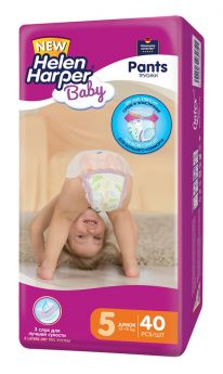 Подгузники-трусики Helen Harper Baby Junior, 12-18 кг, 40шт.