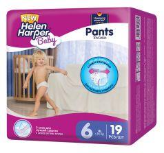 Подгузники-трусики Helen Harper Baby XL, ?16 кг, 19шт.