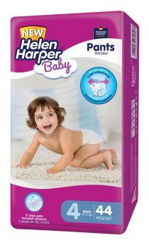 Подгузники-трусики Helen Harper Baby Maxi, 8-13 кг, 44шт.