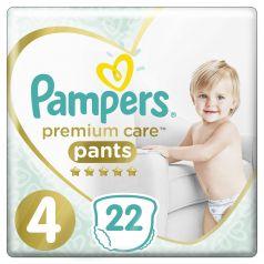 Подгузники-трусики Pampers Premium Care Pants Maxi 4 (9-15кг), 22шт.