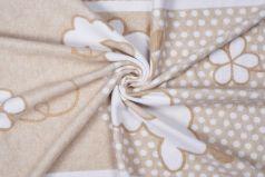 Одеяло байковое Sweet Baby Nuvola, бежевое, 100х140см