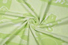 Одеяло байковое Sweet Baby Nuvola, салатовое, 100х140см