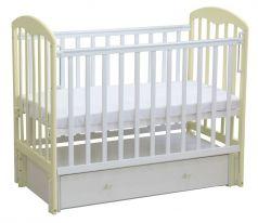"""Кровать детская """"Фея"""" 325, белый-ваниль"""