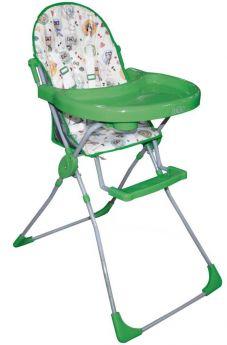 """Стульчик для кормления Selby 152 """"Совы"""", зеленый"""