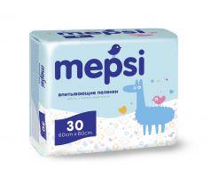 Впитывающие пеленки Mepsi 60х60, 30шт.
