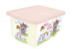 """Ящик для хранения игрушек Little Angel """"Сказочная Принцесса"""", 57л"""
