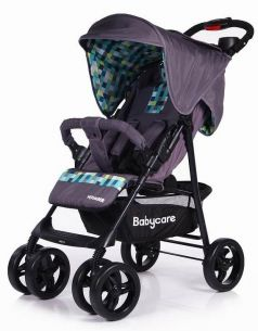 Прогулочная коляска Baby Care Voyager Grey 17