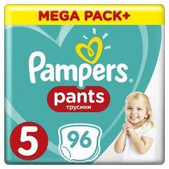 Подгузники-трусики Pampers Pants Junior 5 (12-17кг), 96шт.