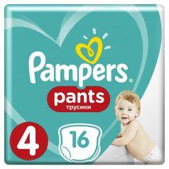 Подгузники-трусики Pampers Pants Maxi 4 (9-15кг), 16шт.