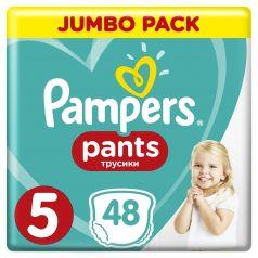 Подгузники-трусики Pampers Pants Junior 5 (12-17кг), 48шт.
