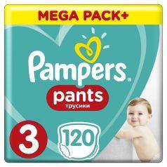 Подгузники-трусики Pampers Pants Midi 3 (6-11кг), 120шт.