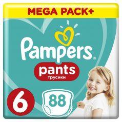 Подгузники-трусики Pampers Pants Extra Large 6 (15+ кг), 88шт.