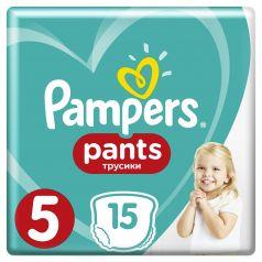 Подгузники-трусики Pampers Pants Junior 5 (12-17кг), 15шт.