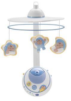 """Мобиль для кроватки Chicco """"Волшебные звезды"""", голубой"""