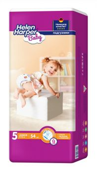 Подгузники Helen Harper Baby Junior, 11-18кг, 54шт.