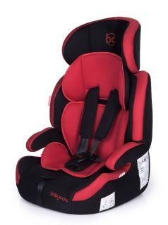 Автокресло Baby Care Legion Black/Red, 9-36кг